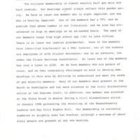 WCLAGA Membership Composition