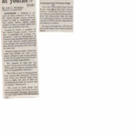 Group aims vigil, forum at youth, Telegram and Gazette, August 14, 1995