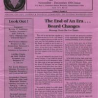 Triangle Tribune Vol. 2 No. 6, November - December 1994
