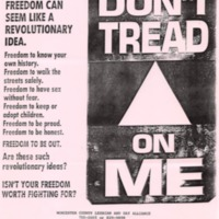 WCLAGA Freedom Poster