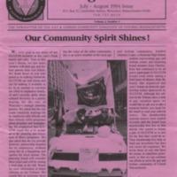 Triangle Tribune Vol. 2 No. 4, July - August 1994
